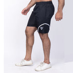 Micropoly Black Swim Shorts