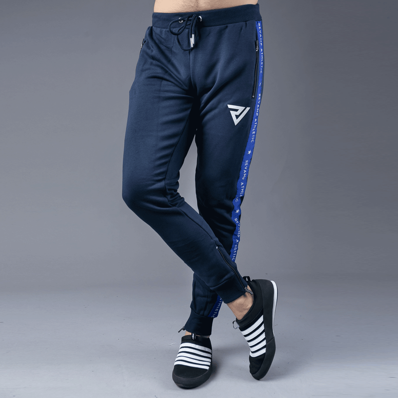 Blue Tapered Trouser