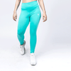 High Waisted Turquoise Leggings