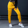 Yellow Terry Trouser with Panel