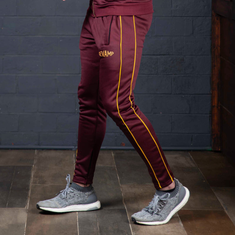 Poly Fleece Maroon Trouser