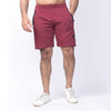 Maroon French Terry Cotton Shorts