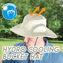 Load image into Gallery viewer, Hydro Cooling Bucket Hat UV Protection
