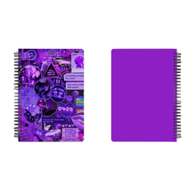 Load image into Gallery viewer, Notebook - Purple Aesthetic