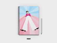 Load image into Gallery viewer, Harry Styles Fine Line A5 Notebook