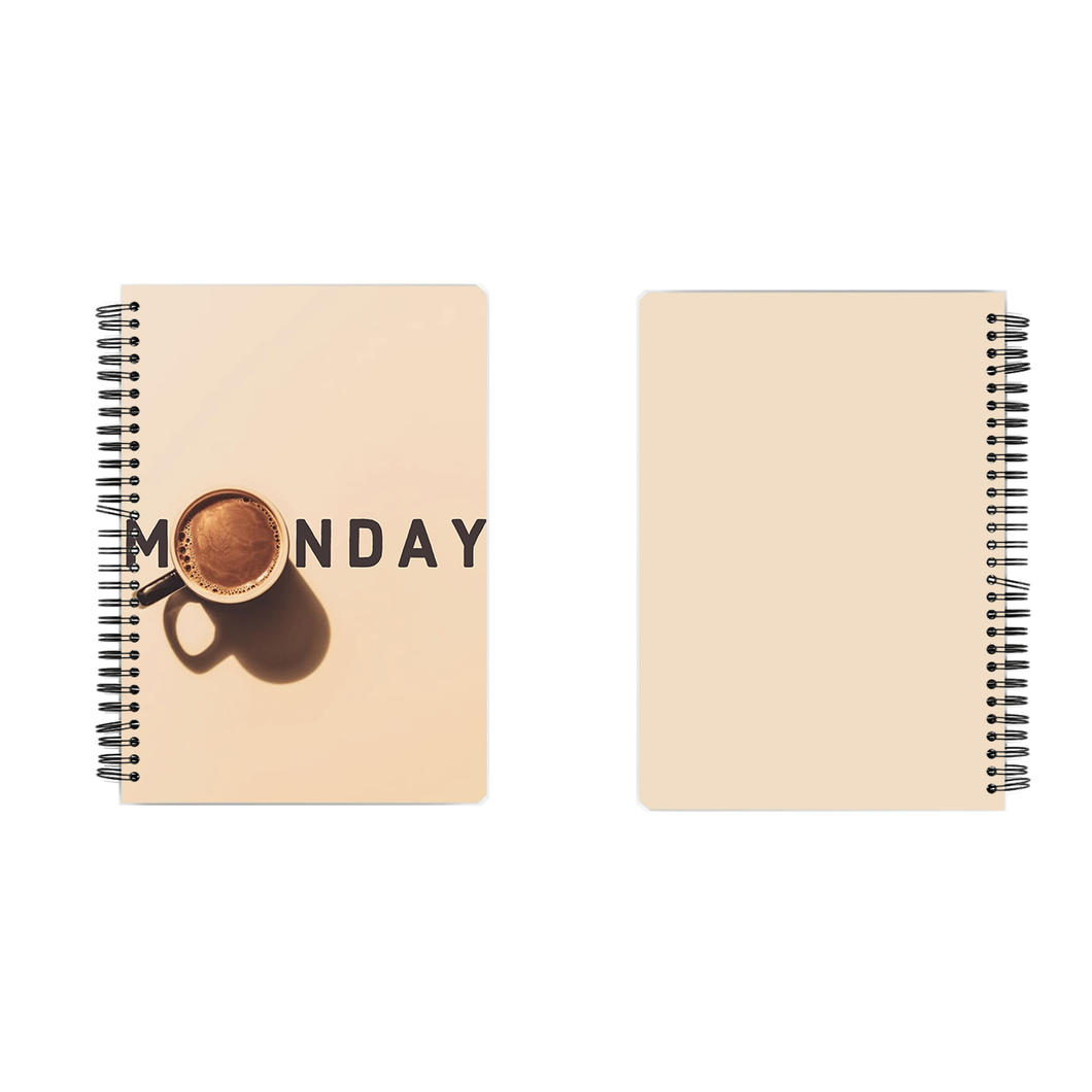Notebook - Monday