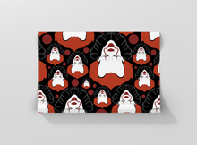 Load image into Gallery viewer, Halloween seamless pattern with scary clowns Gift Wrapping - Pack of 20 and 40