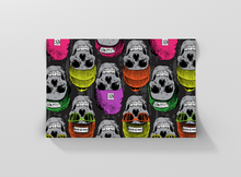Load image into Gallery viewer, Winter skull seamless pattern with beret Gift Wrapping - Pack of 20 and 40