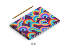 Load image into Gallery viewer, A3 Sketchbook - Seamless Rainbow Pattern