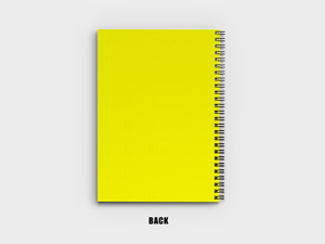 Yellow Aesthetics A5 Notebook