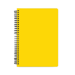 Notebook - Yellow Whale
