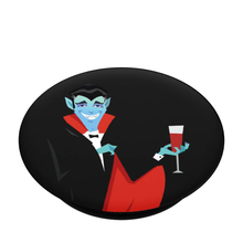 Load image into Gallery viewer, Drinking Dracula - Pop Socket
