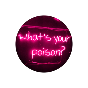 What's your poison? - Pop Socket