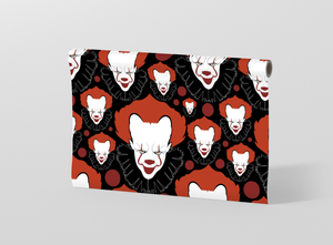 Halloween seamless pattern with scary clowns Gift Wrapping - Pack of 20 and 40