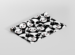 Cute Panda Seamless Gift Wrapping - Pack of 20 and 40
