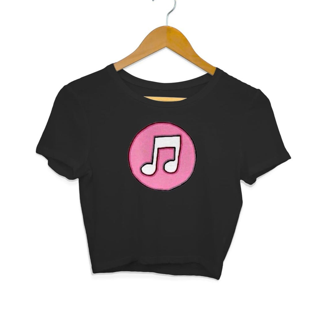 Music Logo - Crop Top