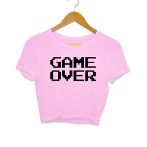 Game Over - Crop Top