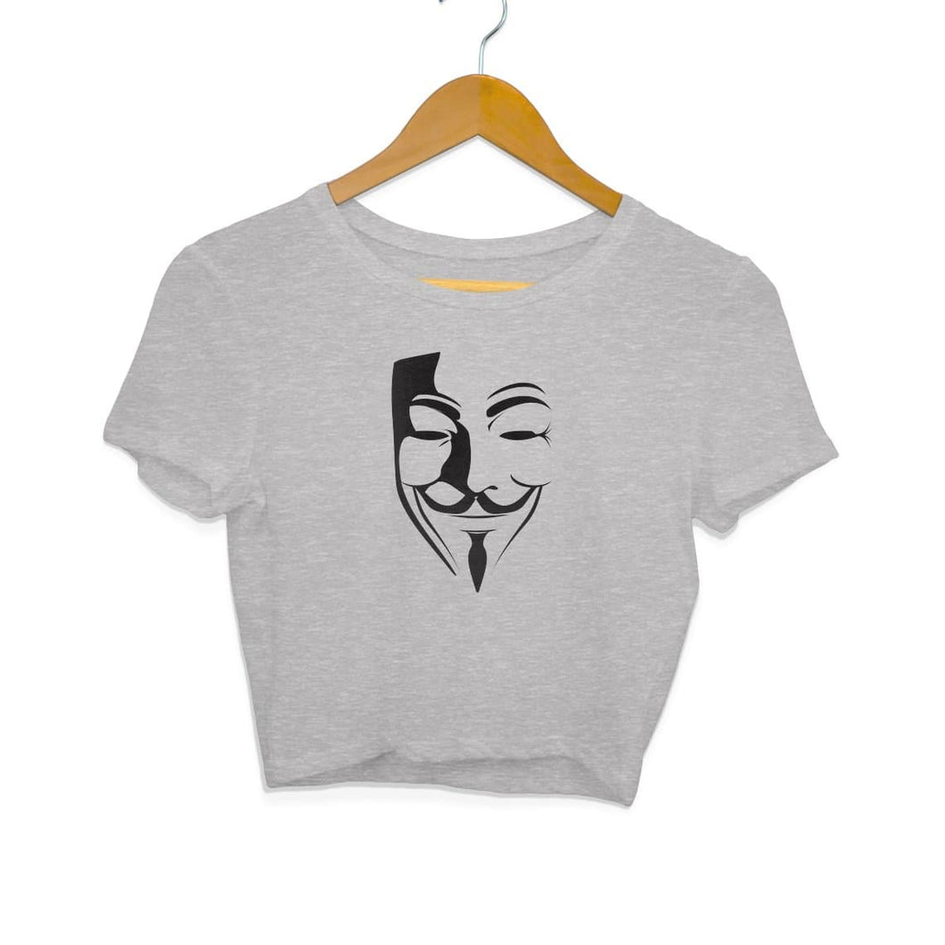 V for Vendetta - Crop Top