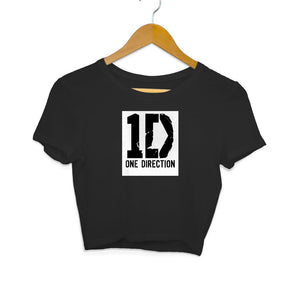 One Direciton Logo - Crop Top