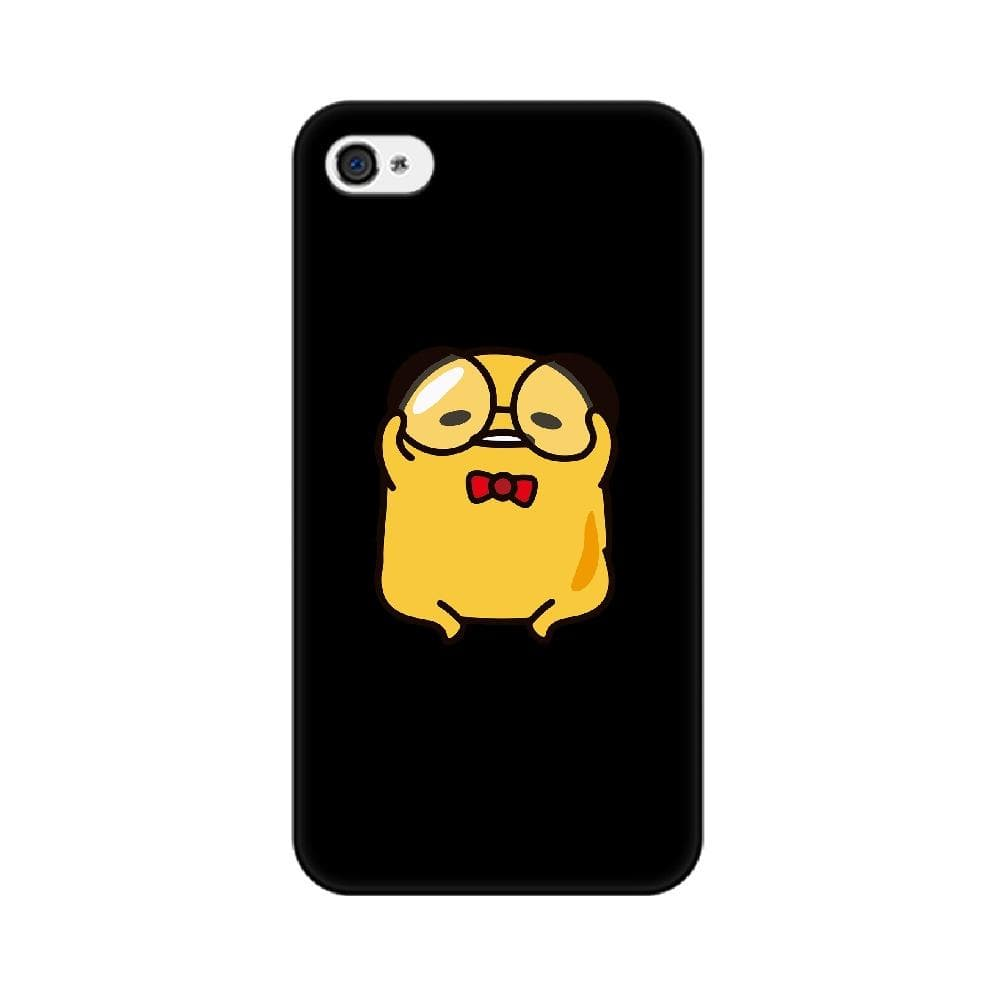 Black Yellow Gudetama iPhone Case