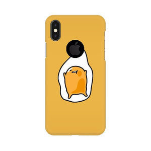 Yellow Gudetama iPhone Case