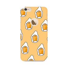Load image into Gallery viewer, Yellow Gudetama Doodle Art iPhone Case