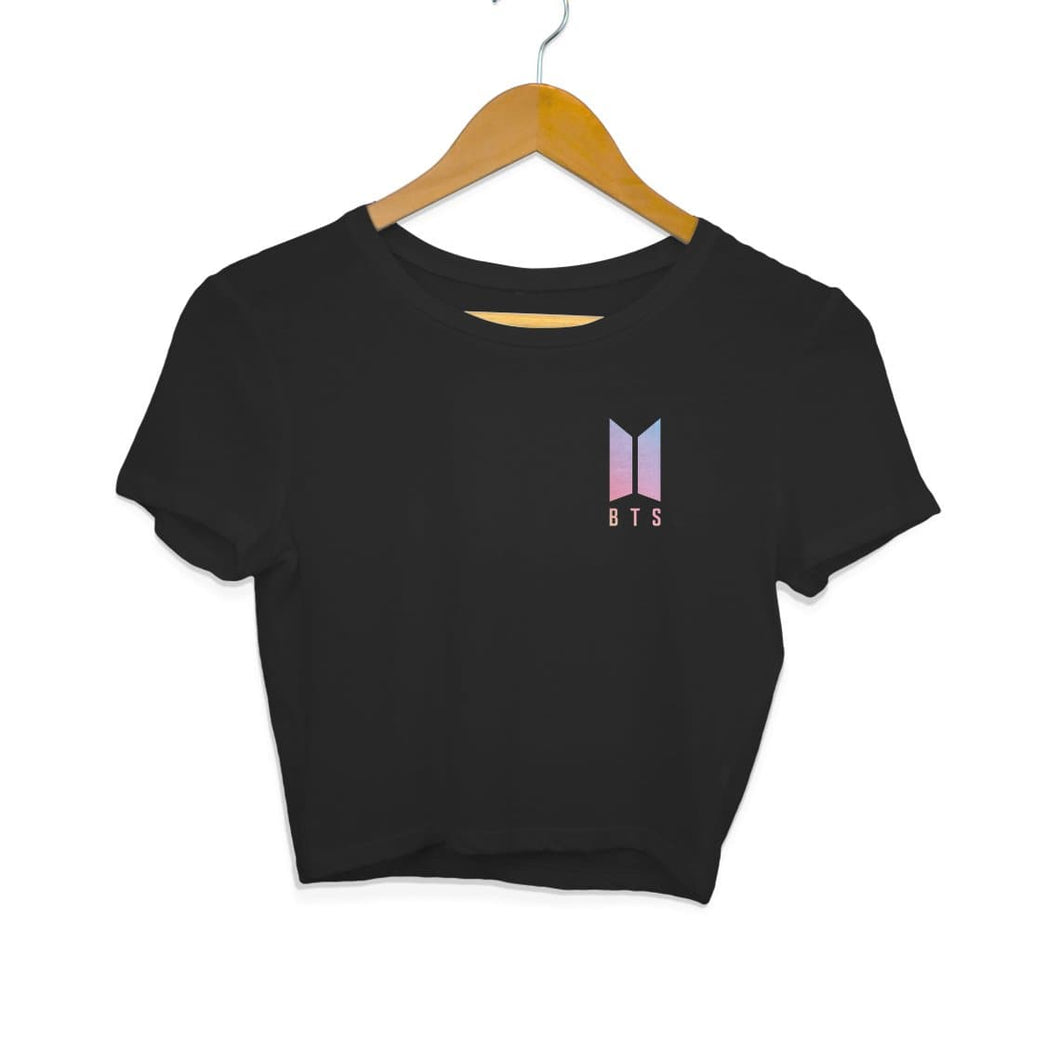 BTS Logo Crop Top