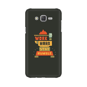 Work Hard Stay Humble Samsung Case