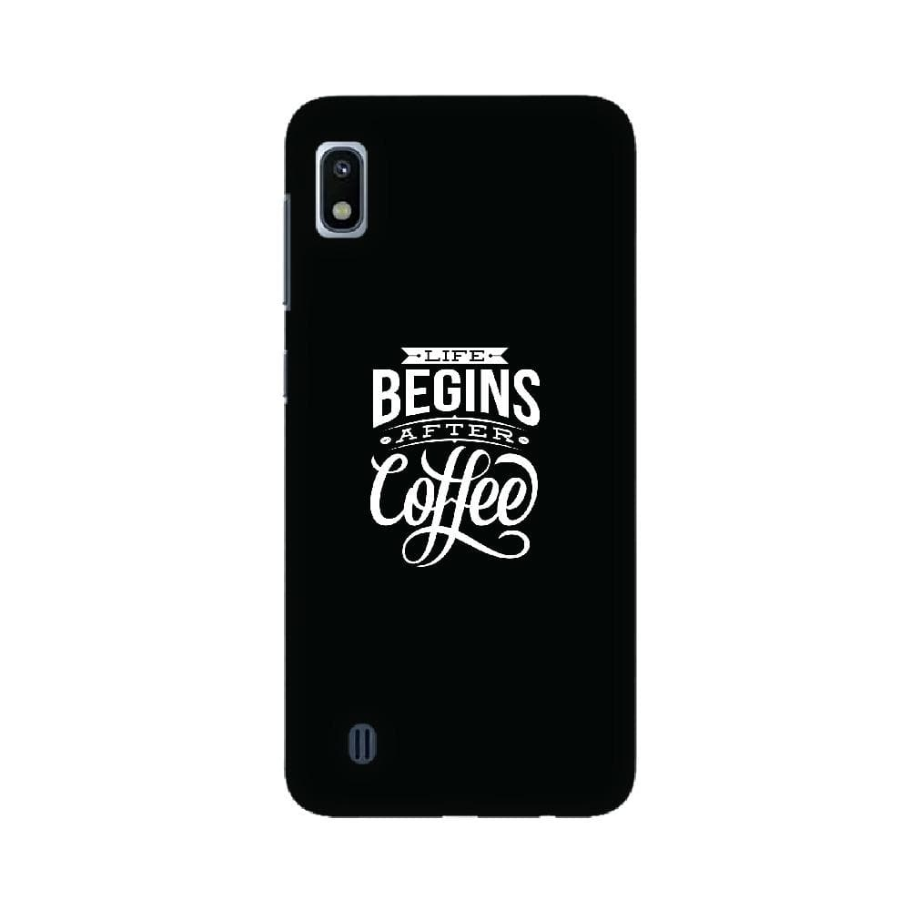 Life Begins after Coffee Samsung Case