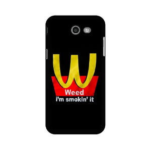 Weed I am Smoking It Samsung Case