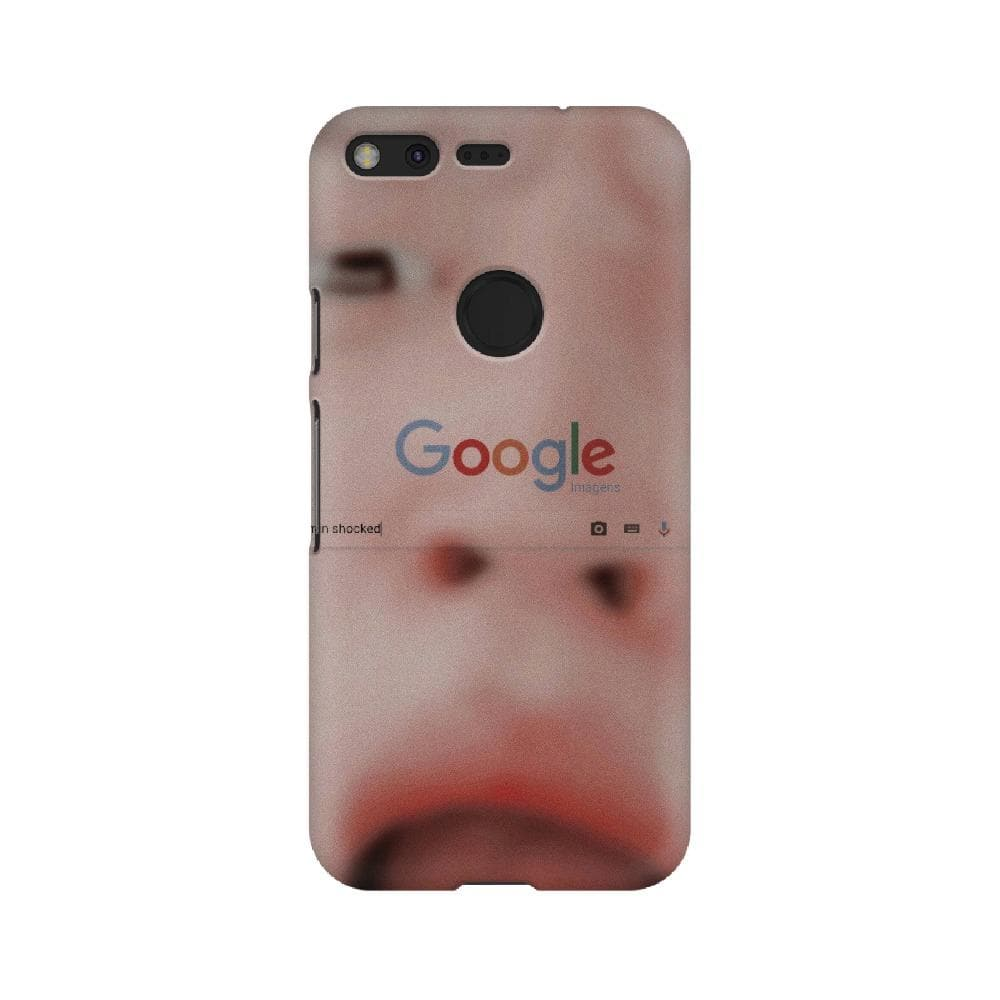 Jimin Shocked Pixel Case