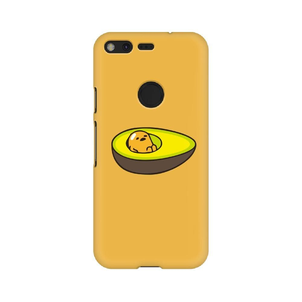 Avocado Gudetama Pixel Case