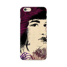 Load image into Gallery viewer, Brown Aesthetics Woman iPhone Case