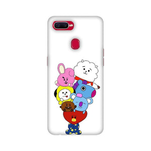 BTS BT21 Oppo Case