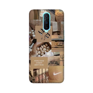 Brown Aesthetic Oppo Case
