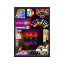 Load image into Gallery viewer, Rainbow Aesthetics Poster