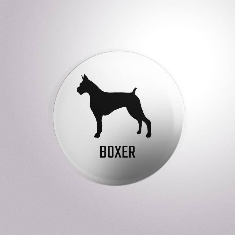 Dog Breed Boxer - Button Badge