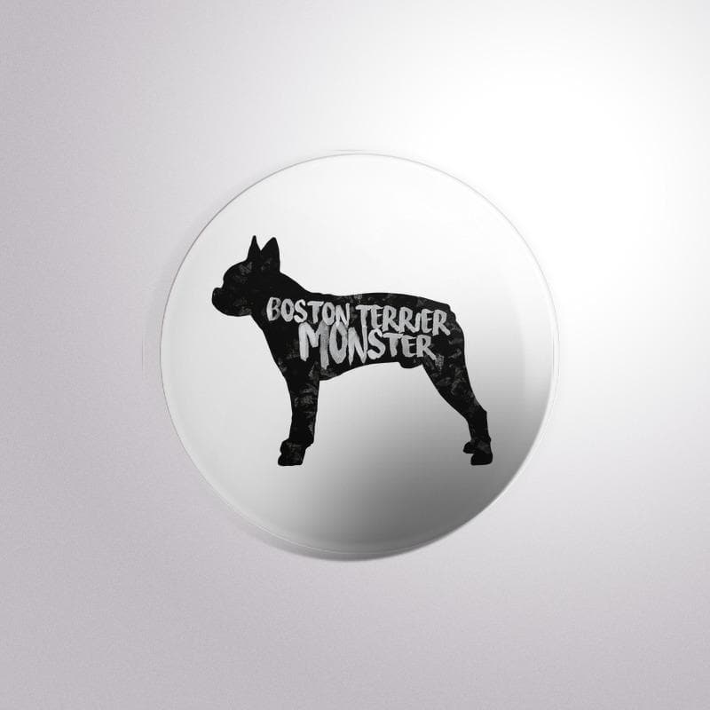 Dog Breed Boston Terrier - Button Badge