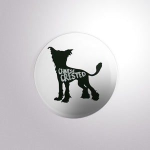 Dog Breed Chinese Crest - Button Badge
