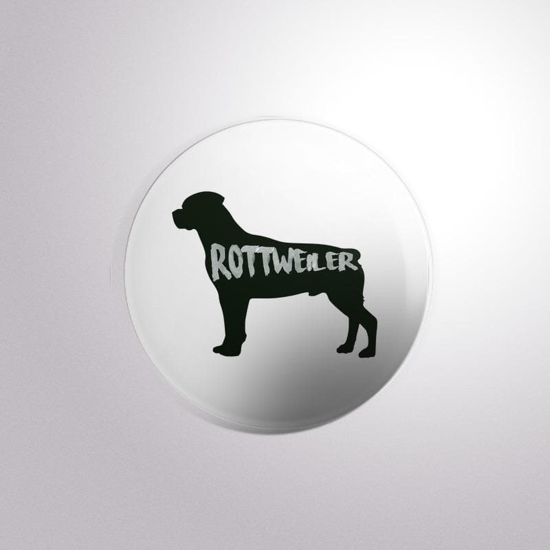Dog Breed Rottweiler - Button Badge