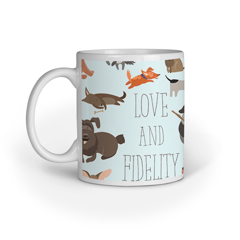 Ceramic Mug - Love and Fidelity