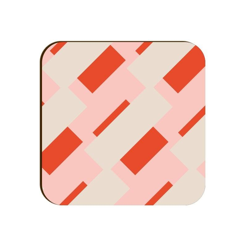 Square Coaster - Color Blocking Patterns