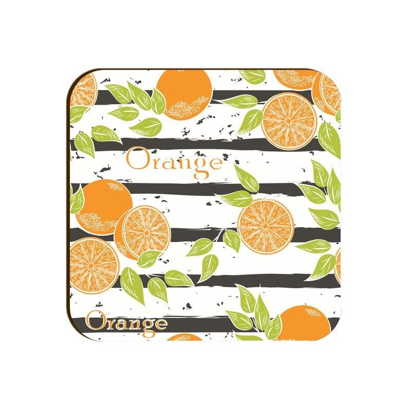 Square Coaster - Orange