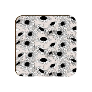 Square Coaster - Graphic Flowers