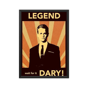How I met your mother - Barney Legendary - Wall Poster