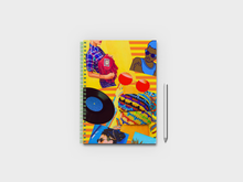 Load image into Gallery viewer, Yellow Aesthetics A5 Notebook