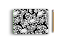 Load image into Gallery viewer, A3 Sketchbook - Skull and Flowers