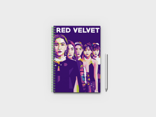 Load image into Gallery viewer, Red Velvet K-Pop Band Abstract Art A5 Notebook