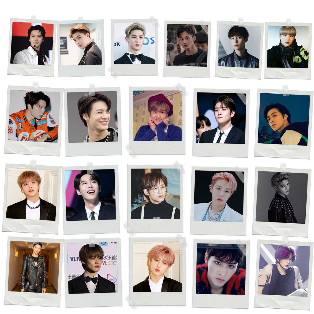 NCT Polaroids Pack of 9