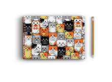 Load image into Gallery viewer, A4 Sketchbook - Cute Cats Seamless